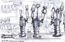 Fiddler's Green Bar sketch