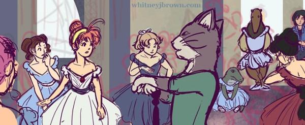 Princess Tutu - Classical Art Parody (Degas)