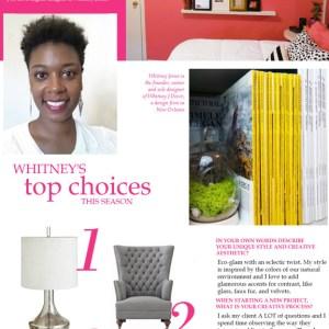 interview with whitney jones of whitney j decor