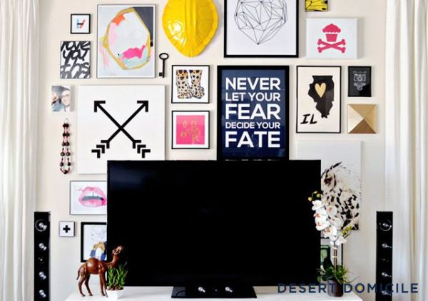 gallery walls - desert domicile