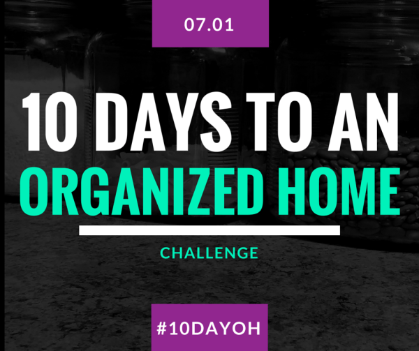 10 days to an organized home