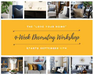 4-week decorating workshop   how to decorate   decorating tips   decorating workshop   decorating class   online decorating   decorating help
