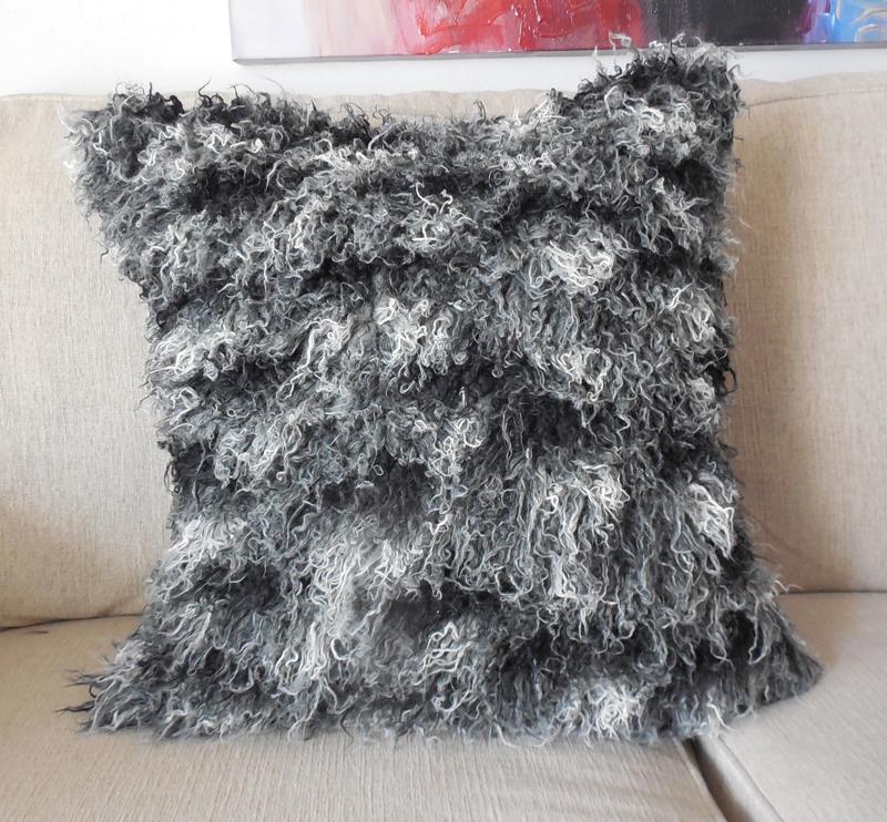 fur shaggy cushion black sale listing sheepskin il pillow icelandic real on msgn fullxfull cus