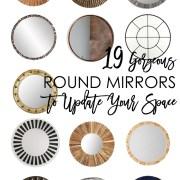 gorgeous round mirrors