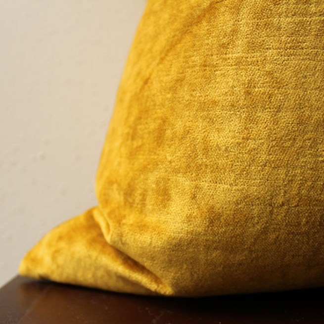 mustard gold velvet pillow   home decor   glamorous decor   velvet decor