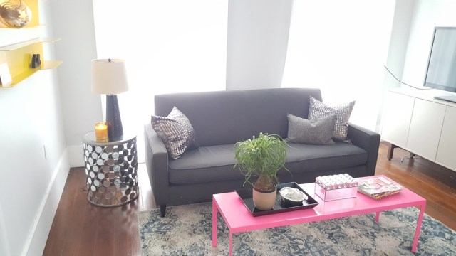 living room decor | colorful living room | eclectic living room