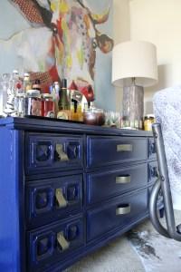 diy faux leather dresser handles