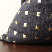 black-studded-pillow-with-gold-studs-2