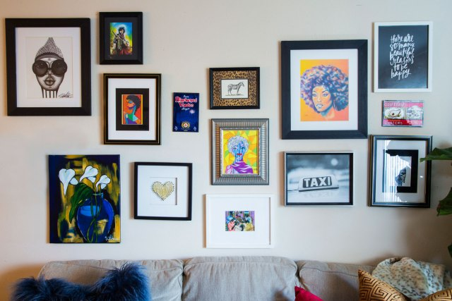 Britt Smith Photography Interior decor photoshoot with New Orleans decorator Whitney J Decor | eclectic living room decor | gallery wall