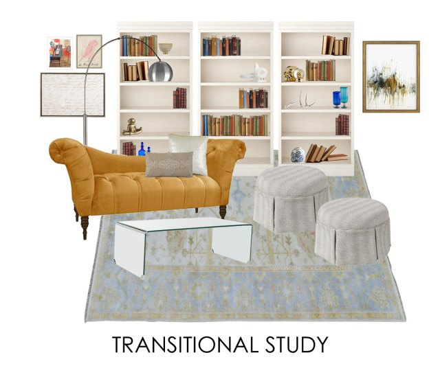 traditional room   transitional living room with traditional rug   glam living room   neutral transitional living room   blue neutral living room   soft blue living room   oushak oriental rug