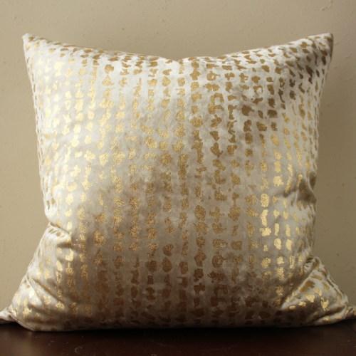 champagne velvet pillow | gold metallic pillow | champagne metallic pillow | champagne gold pillow | gold metallic pillow | gold velvet pillow