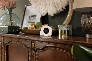 decor items showing styling around a vintage piano, and the cubit tool