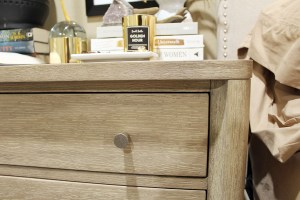 nightstand decor, how to style a nightstand, organizing a bedroom