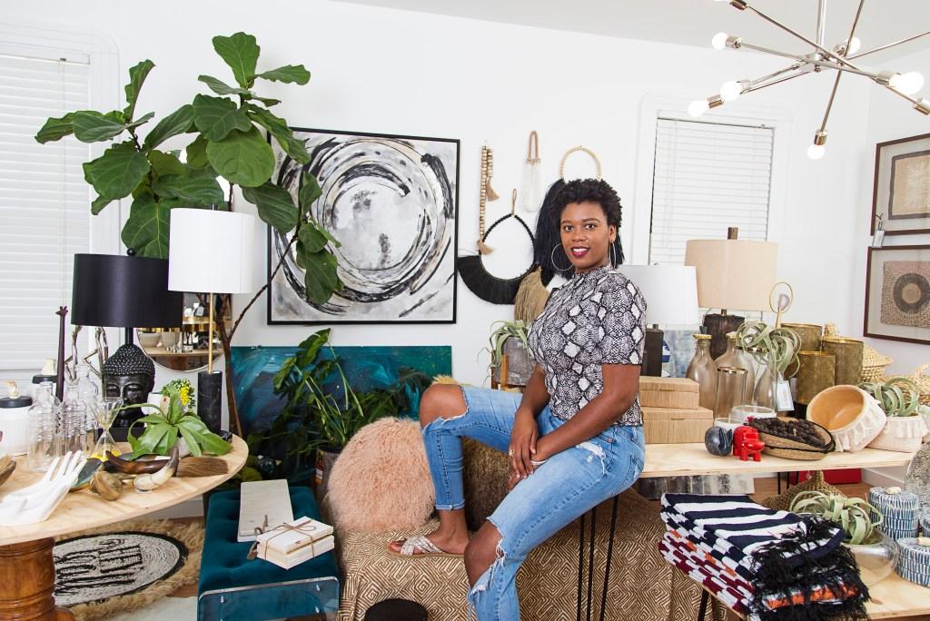 black female interior designer in new orleans