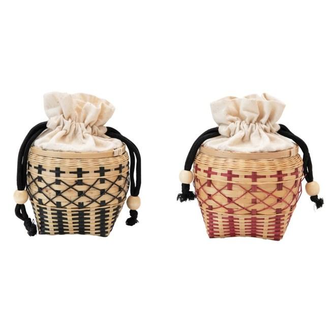 mini seagrass basket