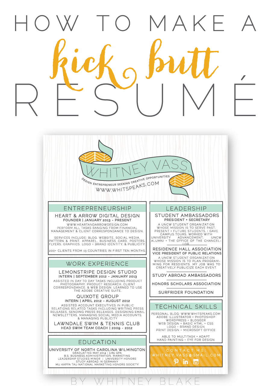 Design My Own Resume. 40 creative cv resume designs inspiration ...