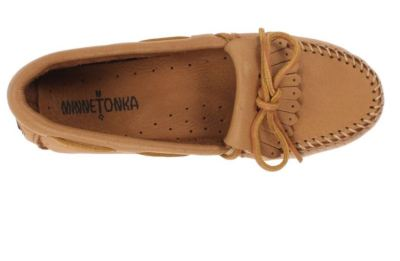 minnetonka moccasin review, whits wilderness, field fashion friday, leather moccasins