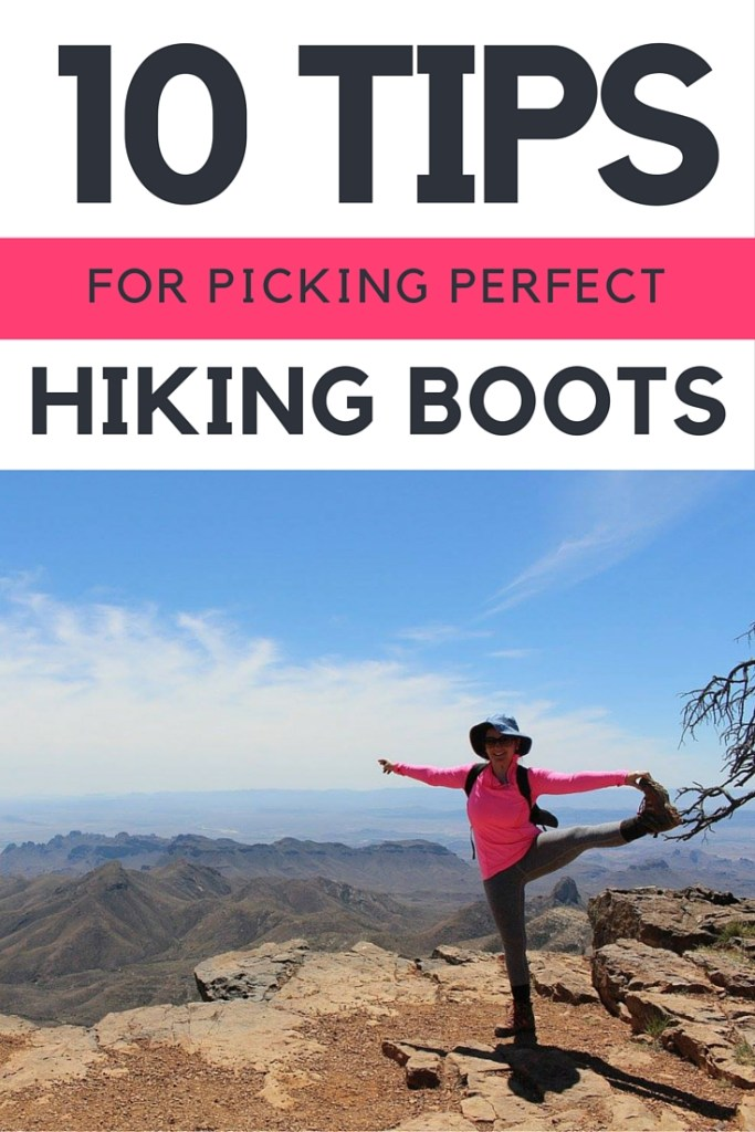 Picking Hiking Boots Graphic - Pinterest
