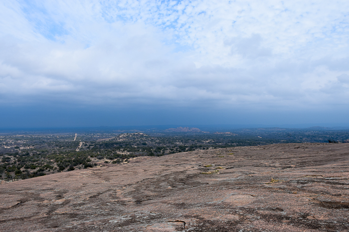 A View from the Top of Enchanted Rock State Natural Area