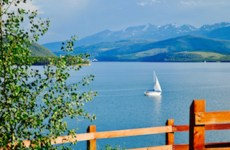 Dillon Reservoir outside of Breckenridge, CO. Offers so many fun summer activities!