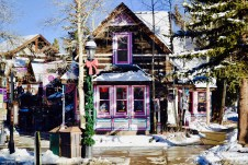 Just one of many adorable shops on cozy Main Street in Breck.