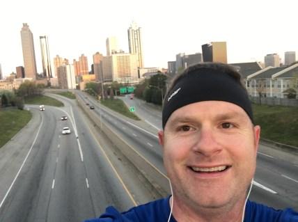 Selfie with the Atlanta Skyline