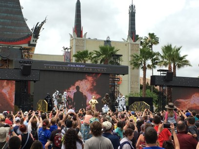 Star Wars show at Hollywood Studios