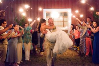 Wedding in Barn
