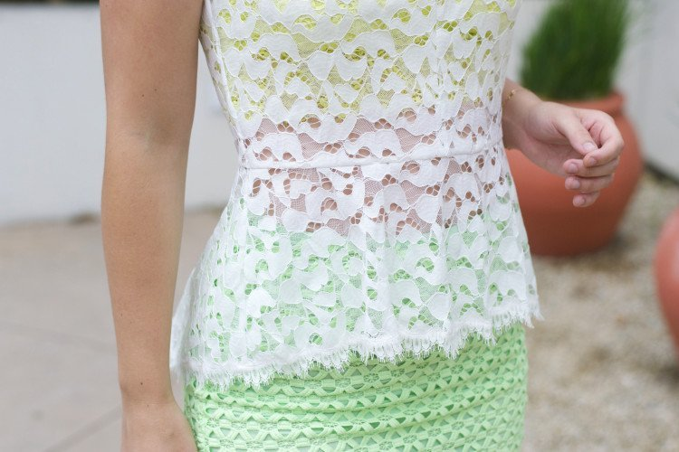 white lace top_green pencil skirt_brittandwhit6