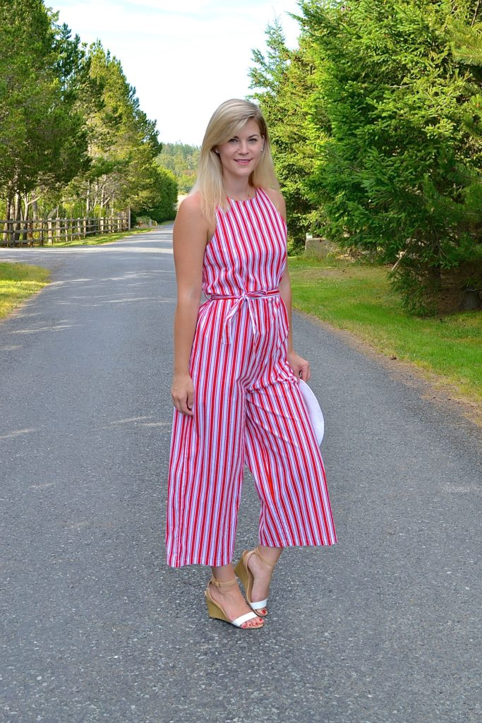 ASOS Striped Jumpsuit