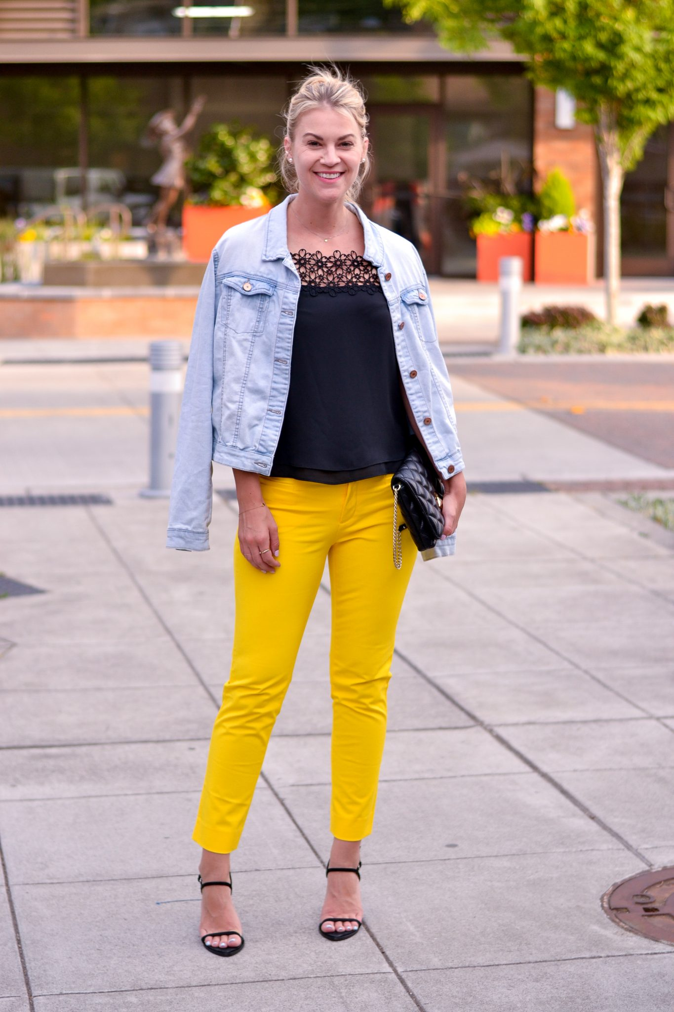 Black & Yellow for Date Night