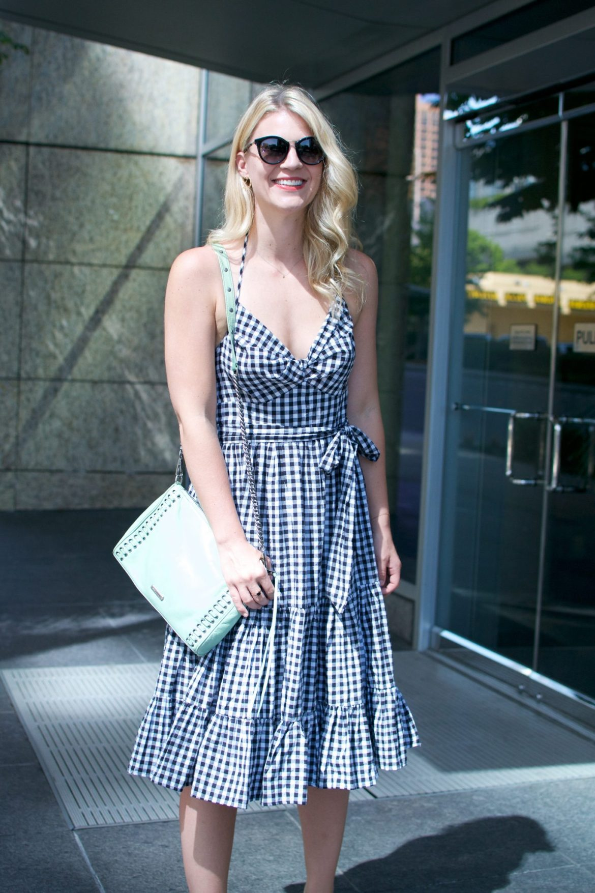 gingham dress summer staple