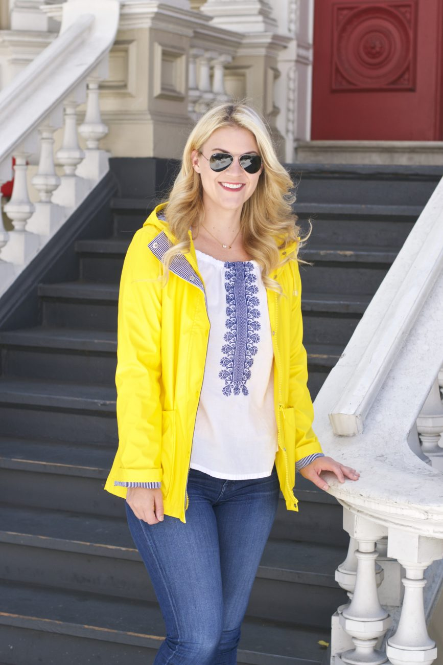 Colorful Raincoats for Fall