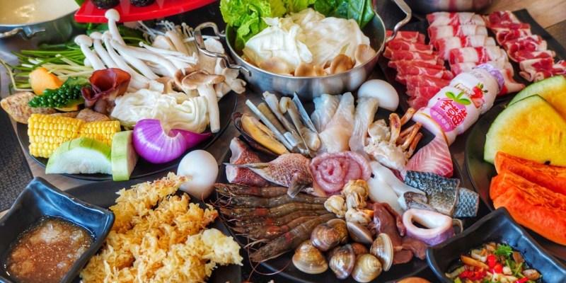 台南吃到飽【宝takara 日式涮涮鍋】上百種食材通通吃到飽 現切肉品/海鮮/壽司 每人只要四百初CP值超高!台南聚餐|台南美食