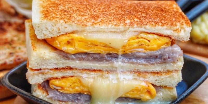 【台北美食】Google評價4.6的超人氣早午餐!超邪惡芋泥瀑布必點 鄰近台北小巨蛋 - MAMA'S 鐵鍋早午餐
