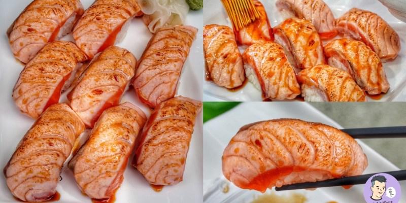 【台南美食】隱身在五妃街的平價壽司!必嚐炙燒鮭魚油香逼人好欠吃 - 錦平價壽司專賣|中西區美食|台南壽司