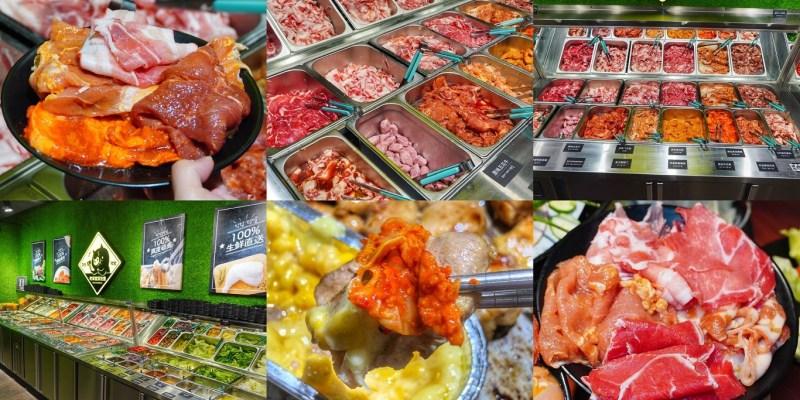 【台南美食】咚豬咚豬韓式燒烤299元吃到飽!14種肉品/火鍋/自助吧無限量供應 不訂位吃不到!台南吃到飽|東區美食