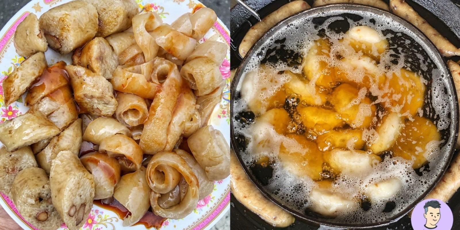 【台南美食】張記東山肉圓 在地人強力推薦的老字號美食!這盤大腸+豬皮只要60元便宜好吃 來東山非吃不可