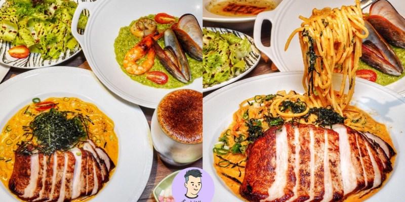 【台北大安區】台北好吃的義大利麵在這裡!歐式質感義式咖啡廳「水礦 Restaurant & Cafe」約會聚餐餐廳推薦 鄰近捷運站超方便|台北美食