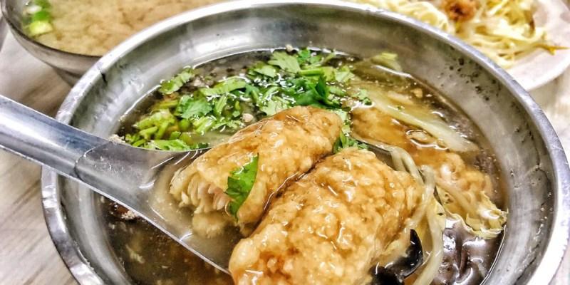 【 台南 ‧ 永康區 】三村國小斜對面的鹽行土魠魚羹 小白最愛古早味肉燥飯配味噌湯的銅板價組合