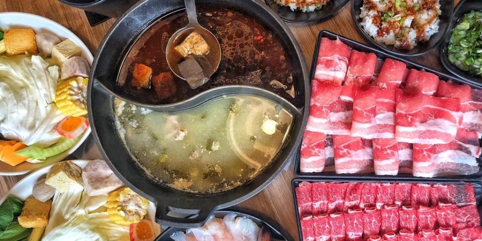 [新北 ‧永和區]磅礴職人手作鍋物 獨家特色湯頭平日打卡享用肉品買一送一大口吃肉好滿足