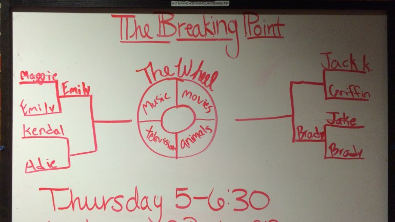 Breaking Point: Round 1 Continued