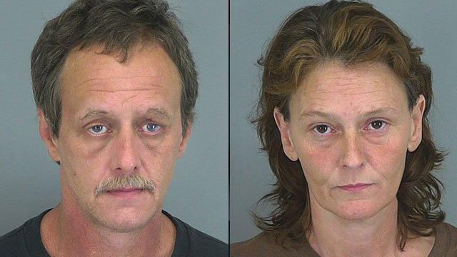 Larry Davenport (left) and Lisa Snelgrove. (Spartanburg Co. Detention Center)