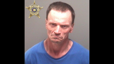 The Morgan County Sheriff's Office is looking for a man following a car chase on a highway.