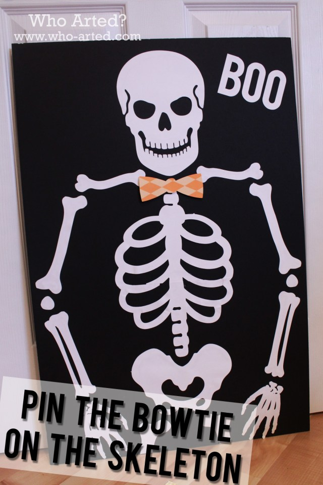 Pin the Bow on the Skeleton 05