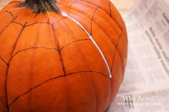 Spider Web Pumpkin 04