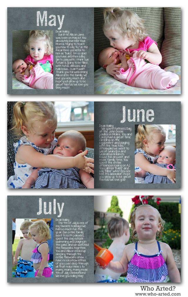 Yearly Photo Book, H1 May-Jul
