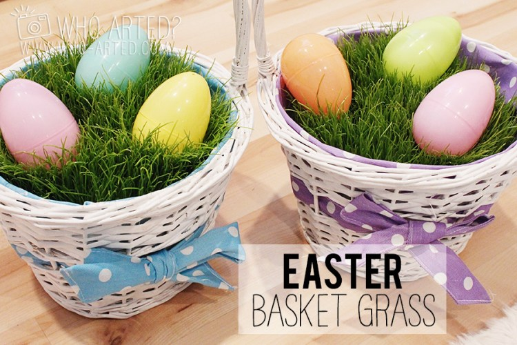 Grow Your Own Easter Grass Who Arted 00