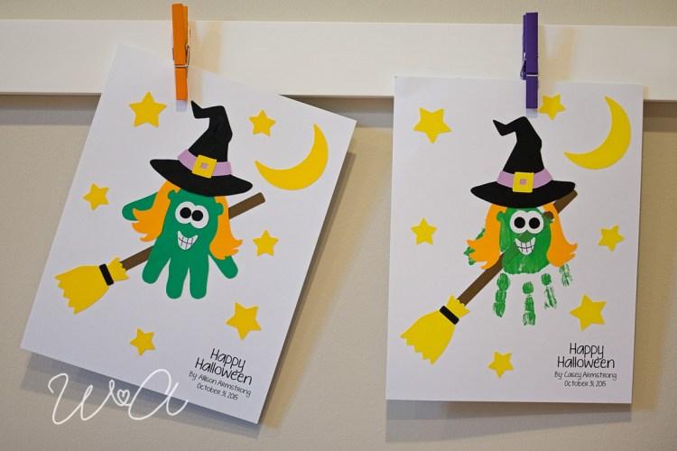 Witch Handprint Craftivity 05