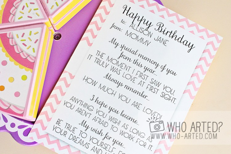Birthday Memory Cards Template Who Arted 01